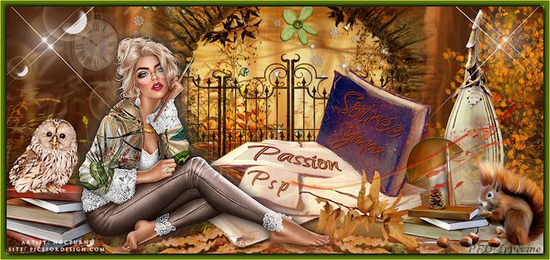 Soir�e sympa et Passion Paint Shop Pro