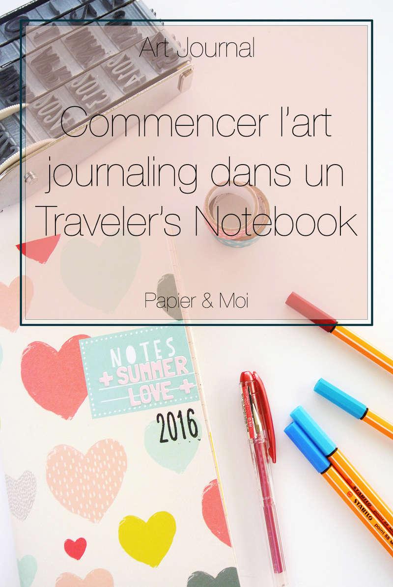 art journal - traveler's notebook - littlesummerjoy