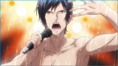 Un chantre en pleine démonstration