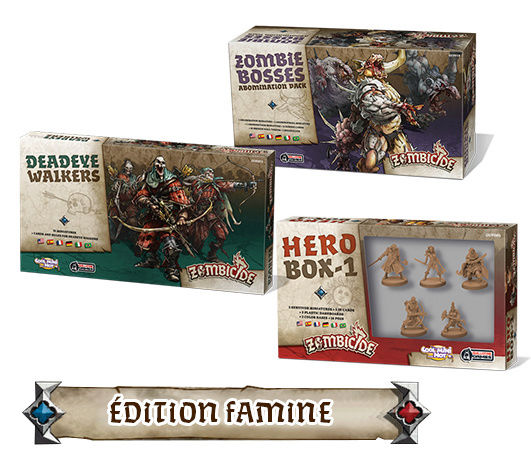 Zombicide : Black Plague Édition Famine