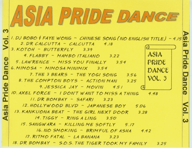 Asia Pride Dance Vol. 3