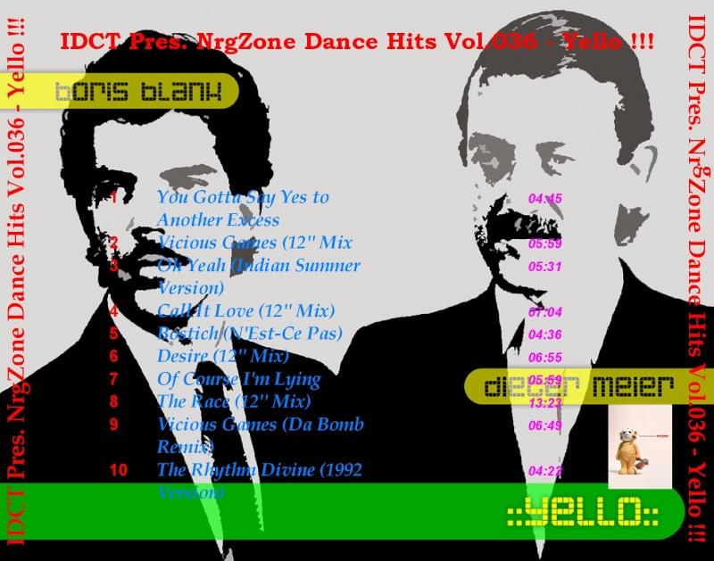 NrgZone Dance Hits Vol.036 - Yello !!!