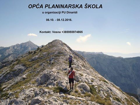 Opća planinarska škola 2016