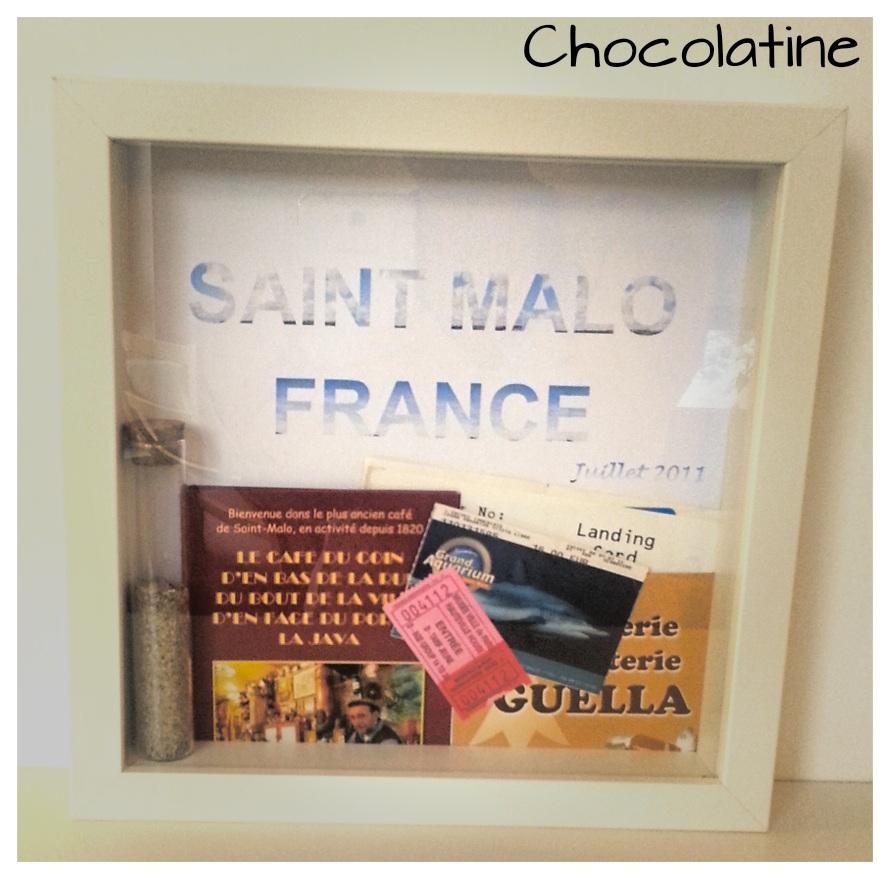 diy le cadre souvenirs de voyage la p 39 tite vie de la p 39 tite chocolatine. Black Bedroom Furniture Sets. Home Design Ideas