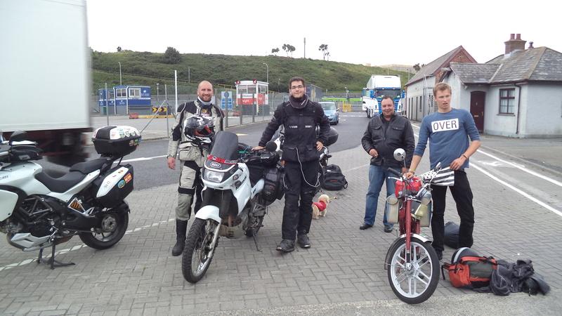 equipe l'irlande moto