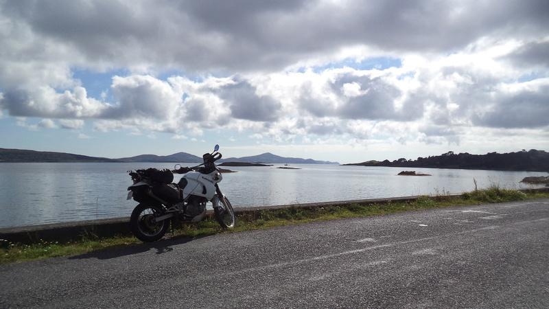 jour1 l'irlande moto