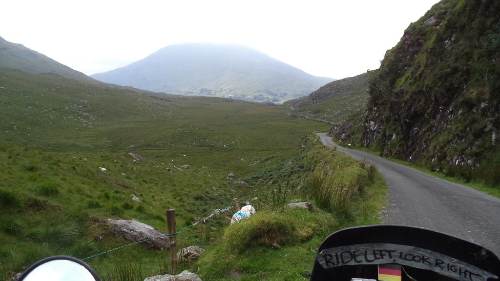 Ballaghbeama Gap l'irlande moto