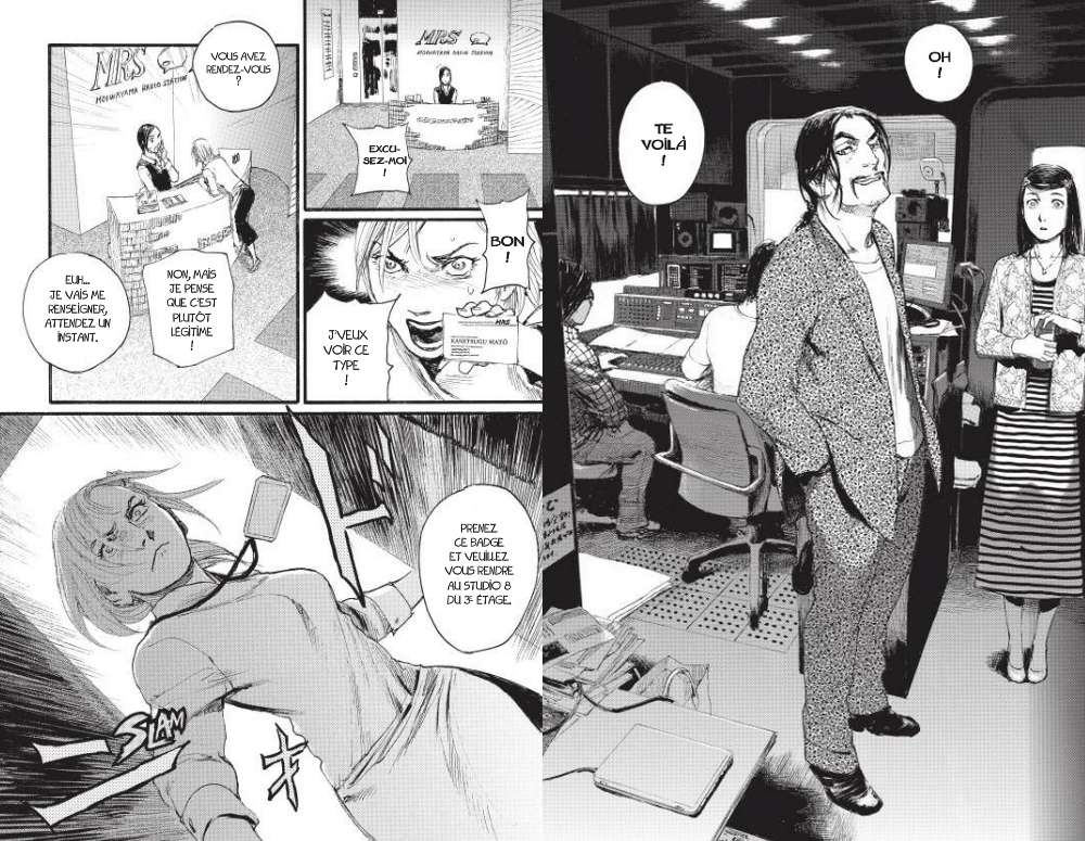 Born to be on air, Pika Edition, Manga, Critique Manga, Hiroaki Samura,