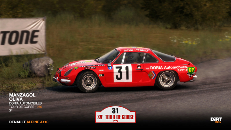 les f rus de maquettes alpine a110 tour de corse. Black Bedroom Furniture Sets. Home Design Ideas
