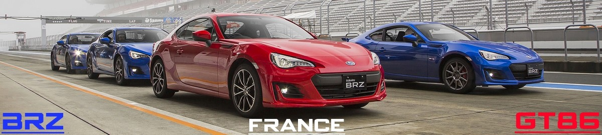 GT86 / BRZ France