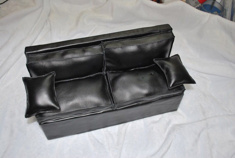 Vds canap en cuir taille msd - Recouvrir un canape en cuir ...