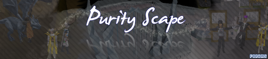 PurityScape - 24/7 Runescape Private Server.
