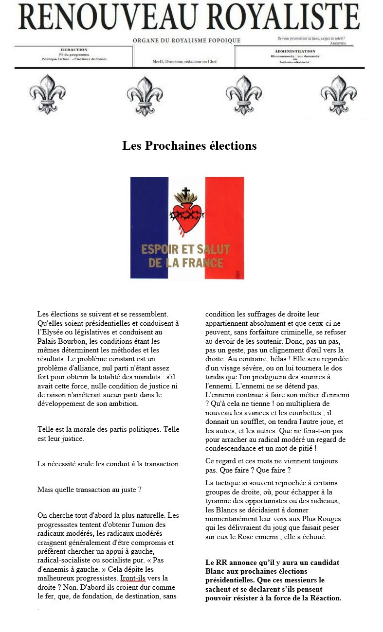 Rr elections pr sidentielles 2016 - Dates elections presidentielles france ...
