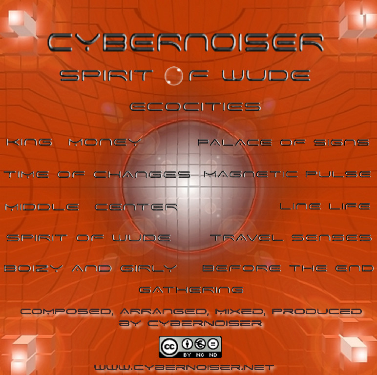 Cybernoiser - Album Spirit Of Wude Verso