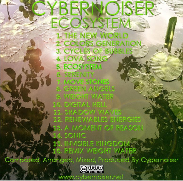 Cybernoiser - Album Ecosystem verso