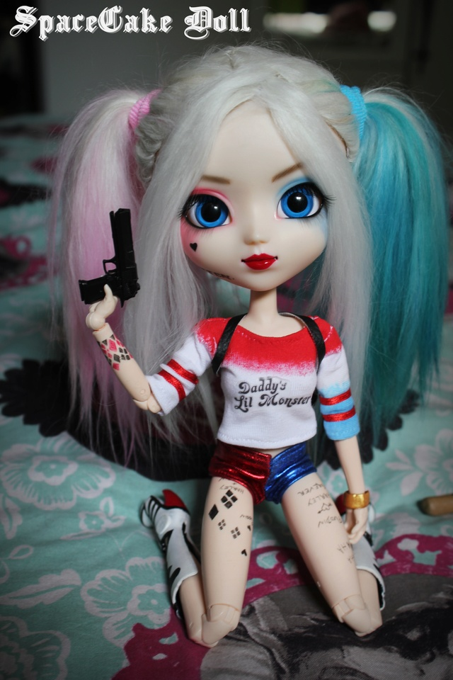 How To Make A Monster High Doll Cake Video
