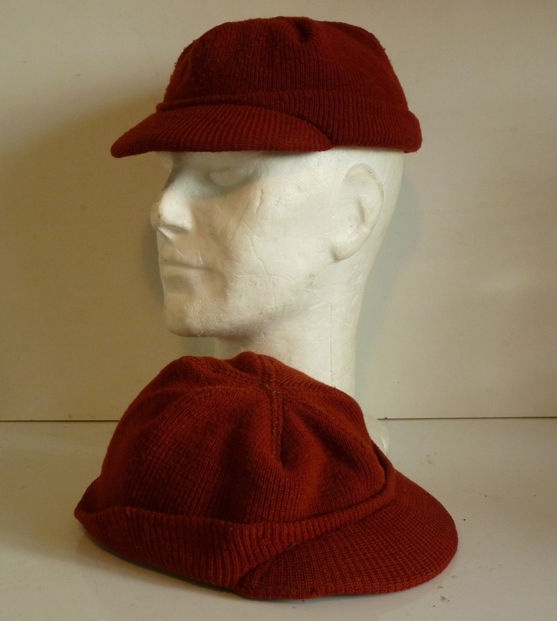 245ff2e7c WW2 British Made Wool Knit Caps ... in red ! - UNIFORMS - U.S. ...