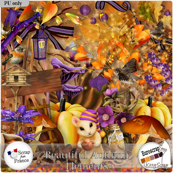 Beautiful autumn de Kittyscrap dans Septembre kittys12