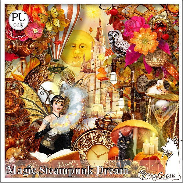 Magic steampunk dream de kittyscrap kittys26