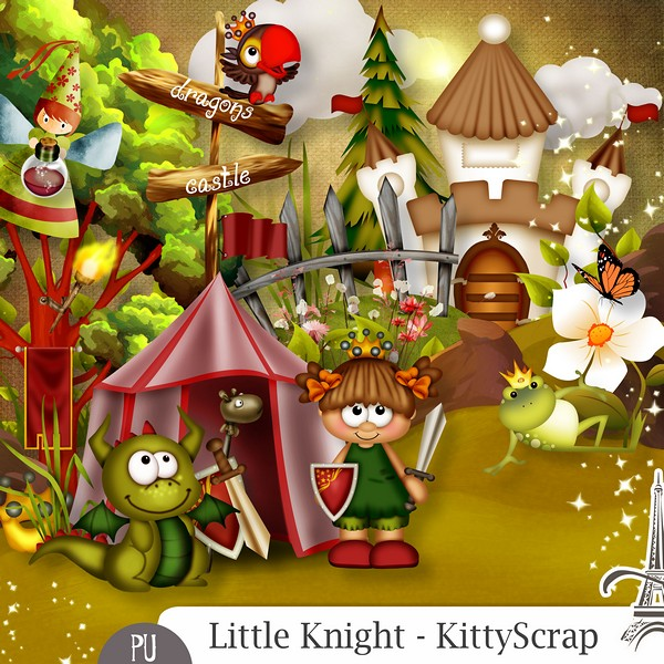 Little knight de Kittyscrap dans Septembre previe14