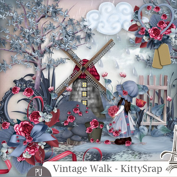Vintage walk de Kittyscrap dans Septembre previe18