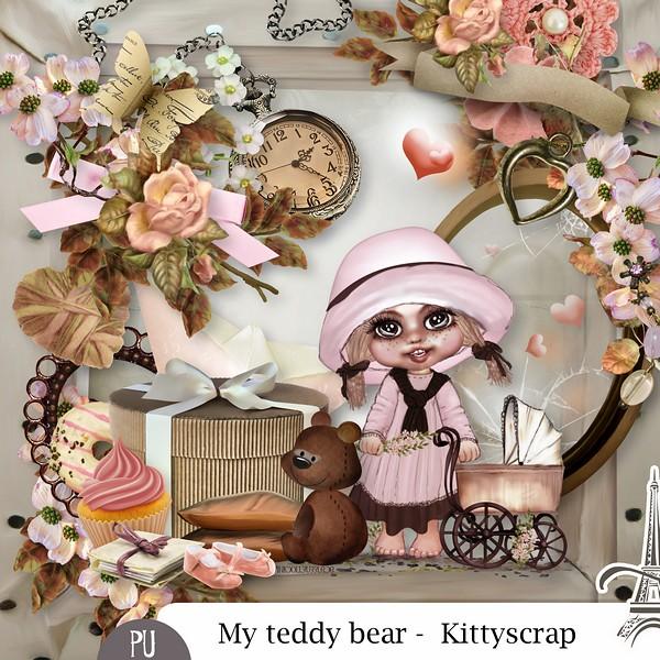 My Teddy bear de Kittyscra dans Novembre previe59