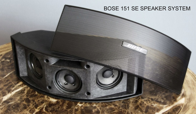 bose 151 se outdoor environmental speakers and indoor surround speaker. Black Bedroom Furniture Sets. Home Design Ideas