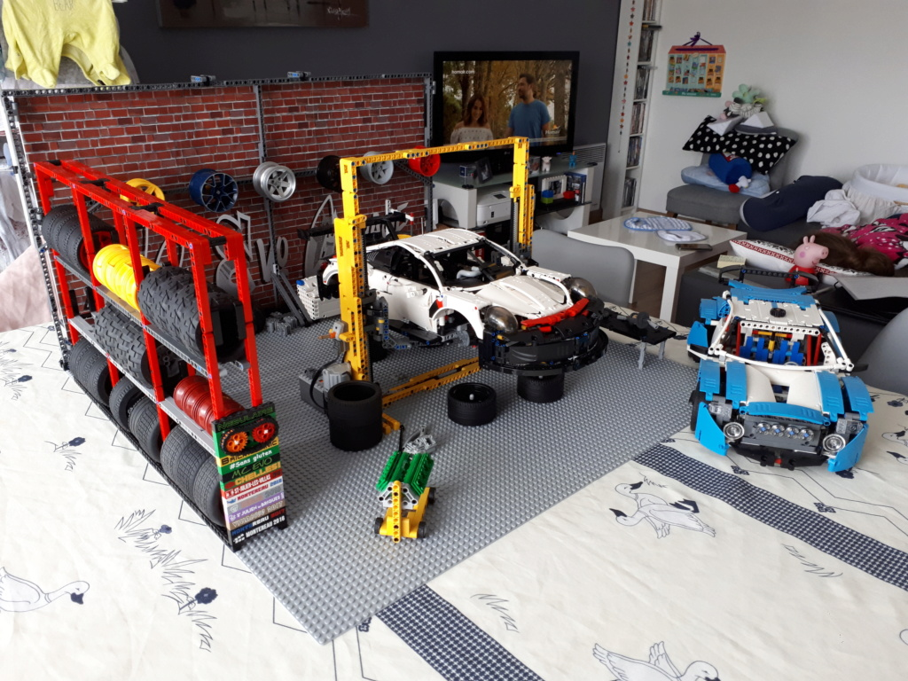 Moc Lego Technic Repair Shop Lego Technic And Model Team