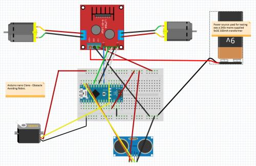 Costruire un robot con arduino pdf
