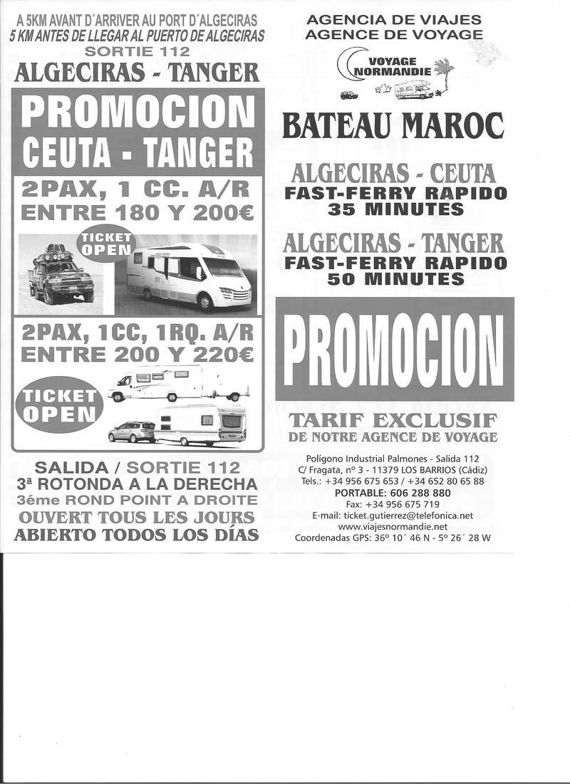 maroc le bateau prix des billets chez gutierrez algesiras tanger page 3. Black Bedroom Furniture Sets. Home Design Ideas