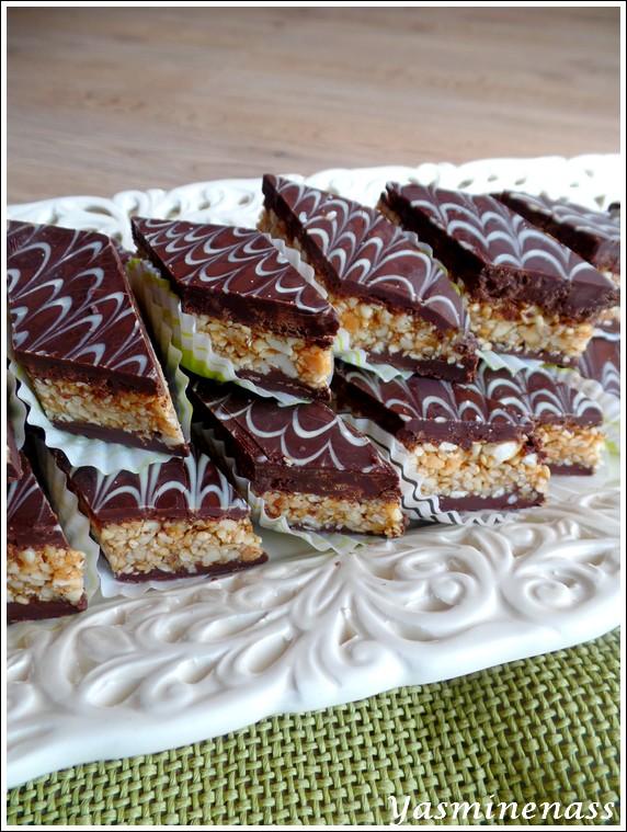 Gateau Marocain Cacahuete Chocolat Sans Cuisson Les