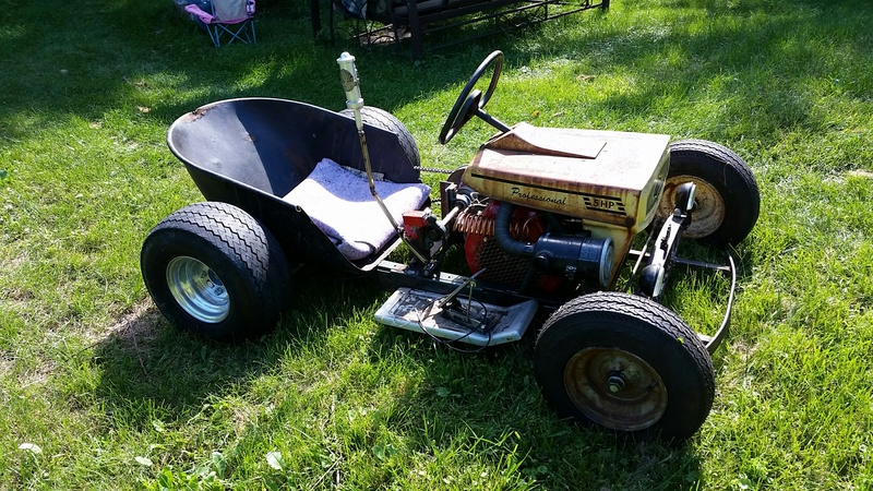 from William best tranny for lawnmower racing