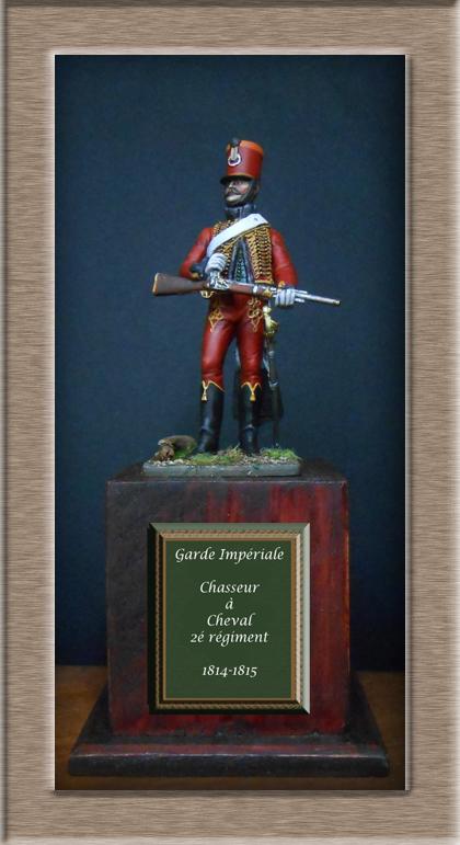 Chasseur cheval 2 me r giment jeune garde 1814 1815 for Portent en eux