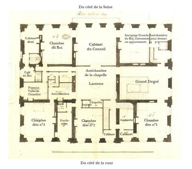 Le Ch Teau De Bellevue Et Le Hameau De Mesdames