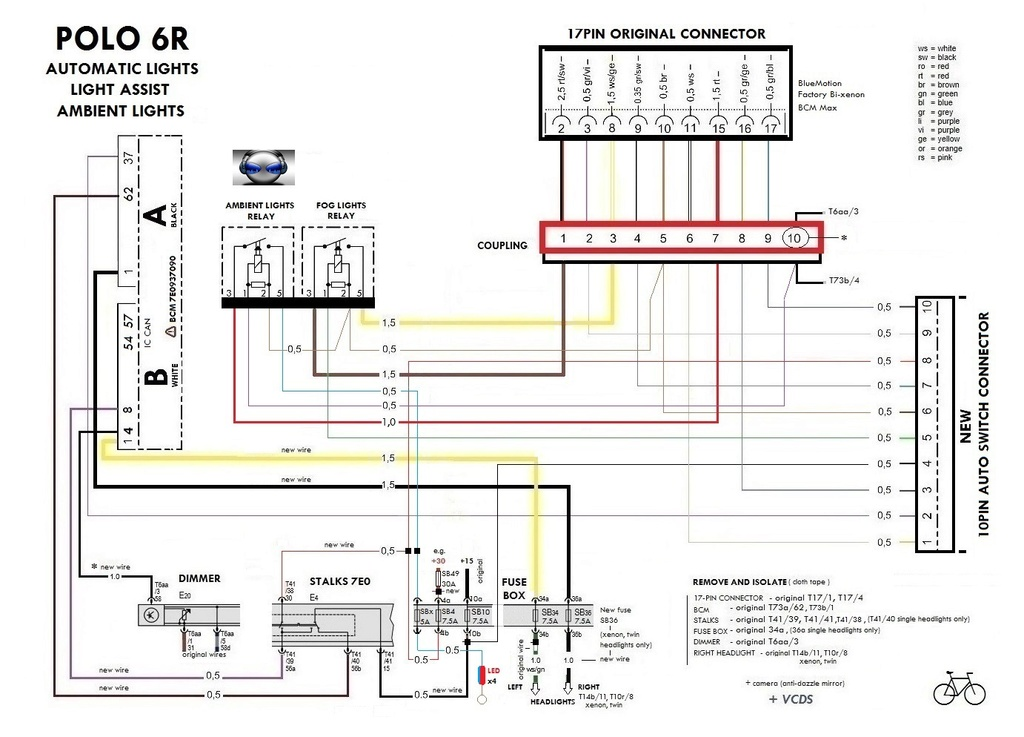 Vw Polo Wiring Diagram : Volkswagon wiring diagrams smart car