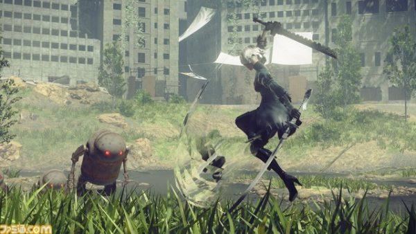 NieR: Automata: nuovi dettagli sul sistema di combattimento