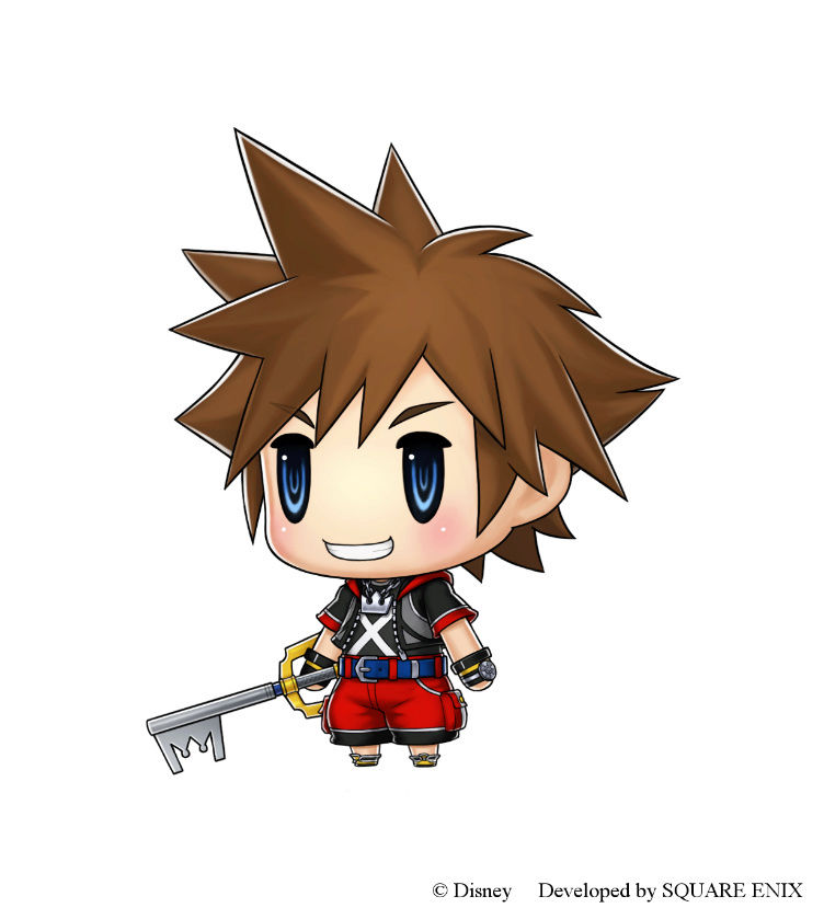 World of Final Fantasy Sora