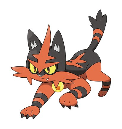pokemon sole e luna torracat