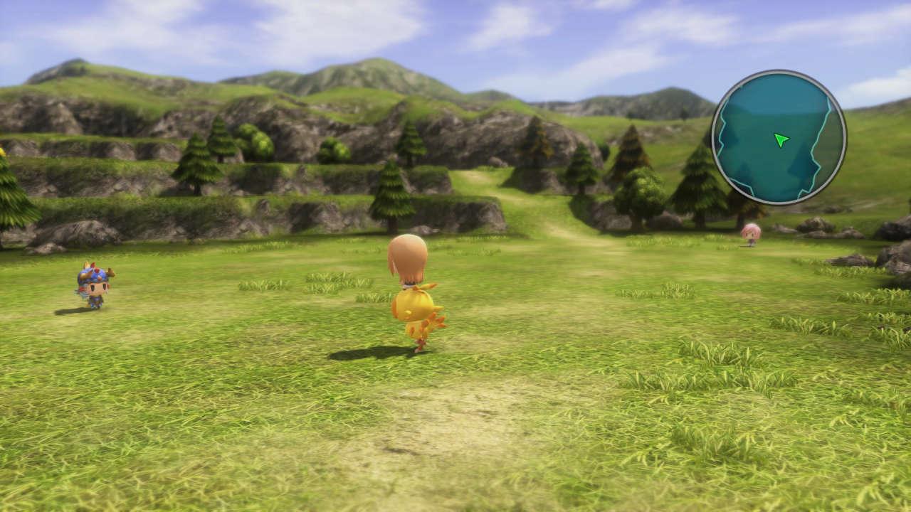 World of Final Fantasy 3