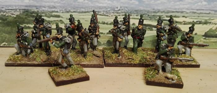 """Projet 4 Bras : nouvelle unité """"Les Rifles"""" ."""