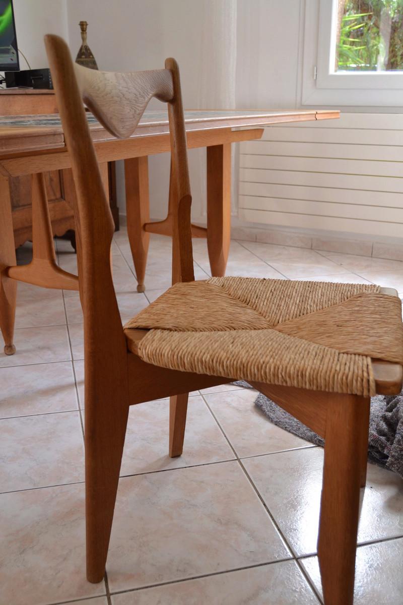 salle a manger guillerme et chambron. Black Bedroom Furniture Sets. Home Design Ideas