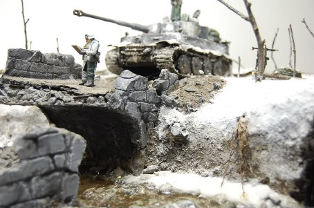 But those damned US engineers blew out every bridges when the panzers ...: https://www.boardgamegeek.com/thread/1660338/aar-kampfgruppe-peiper-die-brucke