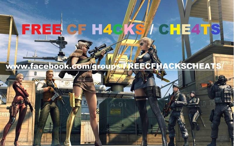 FREE CF H4CKS / CHE4TS