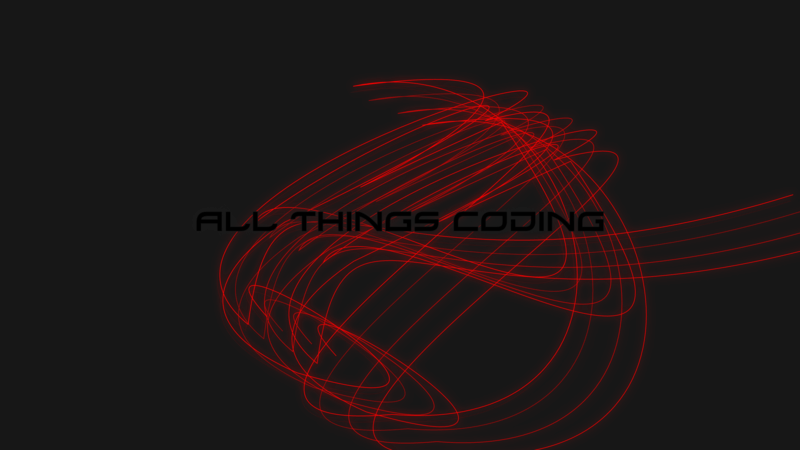 All Things Coding