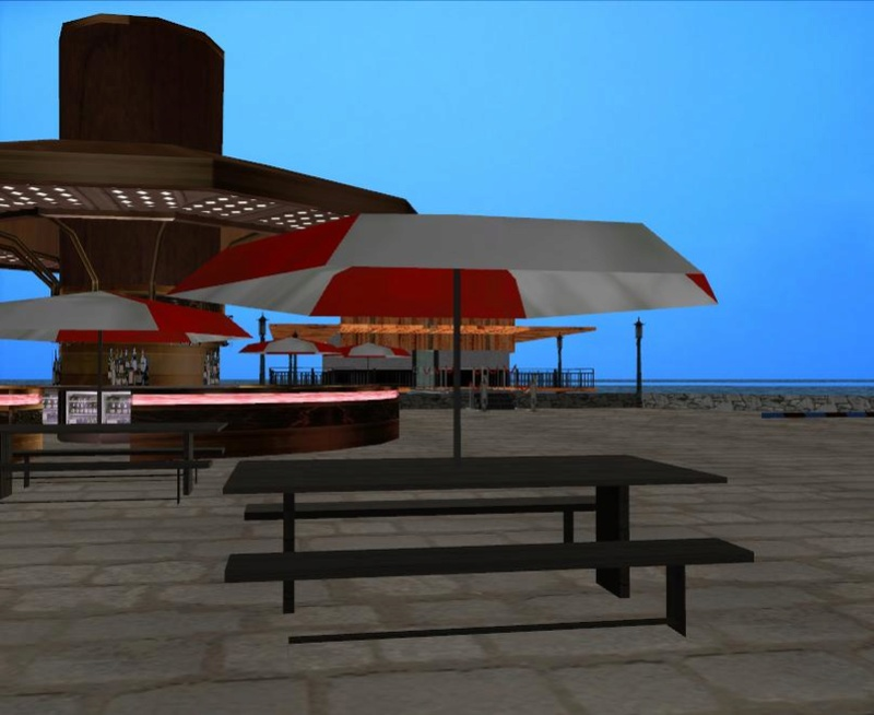 Map marina beach restaurant exterior interior sa mp