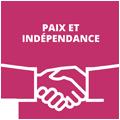 Thème 5 : Paix et indépendance