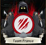 TEAM FRANCE sur le w12