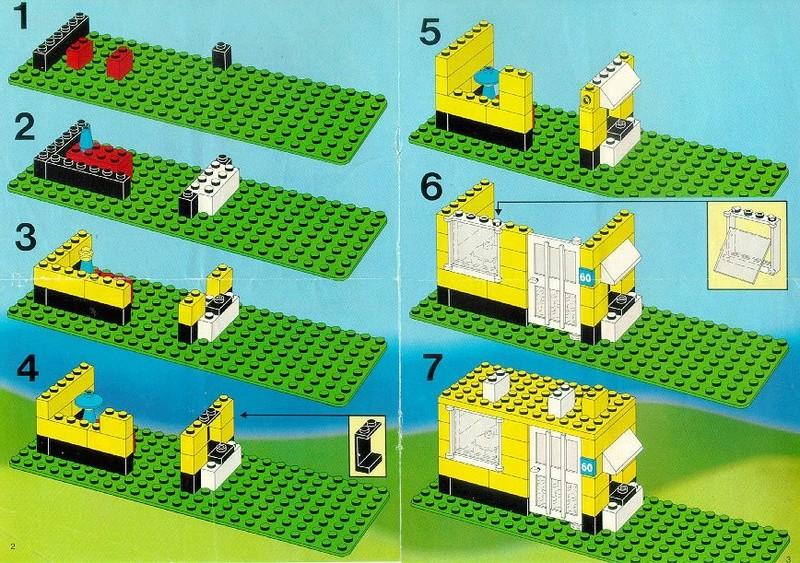 Как сделать из лего постройки