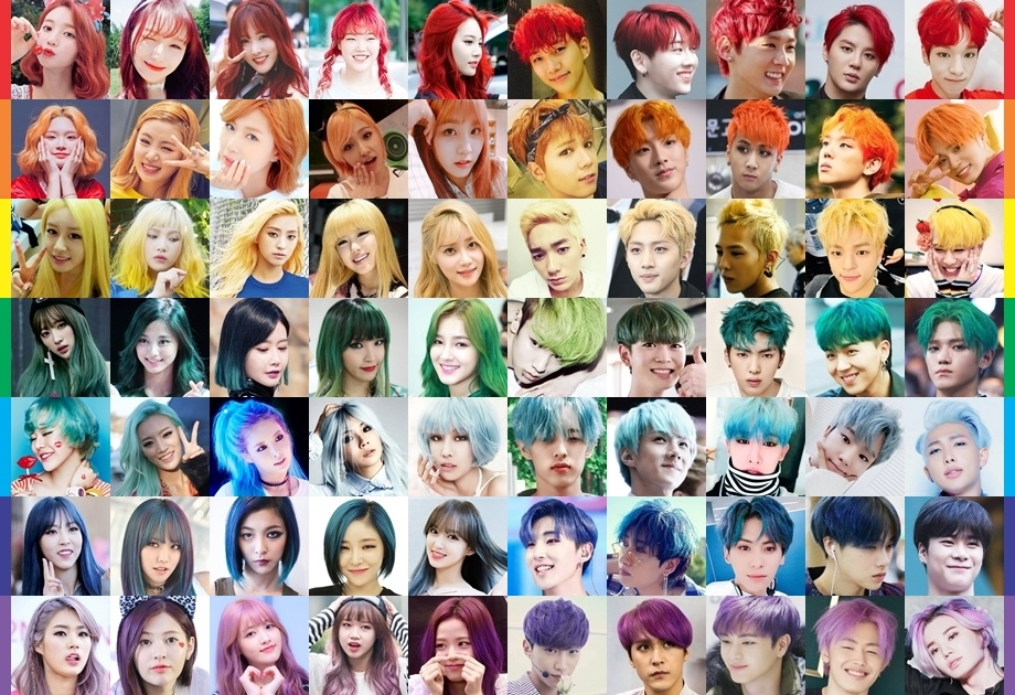 Rainbow Of Kpop Idols Quiz By Sl Kpop136